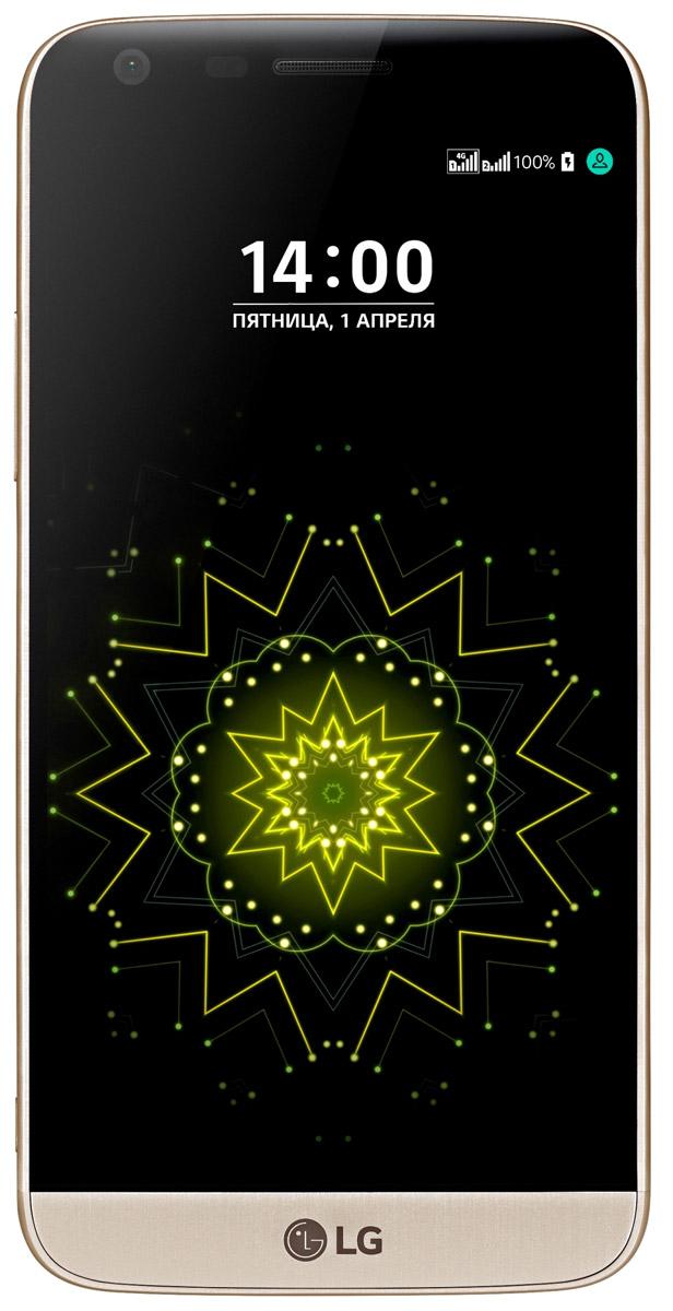 LG G5 SE H845, GoldLGH845.ACISGDLG G5 SE H845 - стильный инновационный смартфон с модульным дизайном. Тонкий металлизированный корпус смотрится гармонично и элегантно, а выдвижной аккумулятор значительно расширяет функциональность данной модели. Благодаря разработанному LG инновационному модульному дизайну теперь можно не только за считанные секунды заменить севший аккумулятор на новый, но и превратить LG G5 в цифровую камеру или Hi-Fi плеер. Широкоформатная камера C легкостью фотографируйте панорамные пейзажи, высокие здания или группы людей без необходимости отходить на большее расстояние от объекта съемки. Невероятные настройки зуммирования Сочетание стандартной и широкоформатной камер позволяет не только быстро переключать режим съемки, но и масштабировать изображение. Режим дневного света Специальный режим дневного света автоматически замеряет параметры освещенности и мгновенно увеличивает или уменьшает яркость дисплея еще до того...