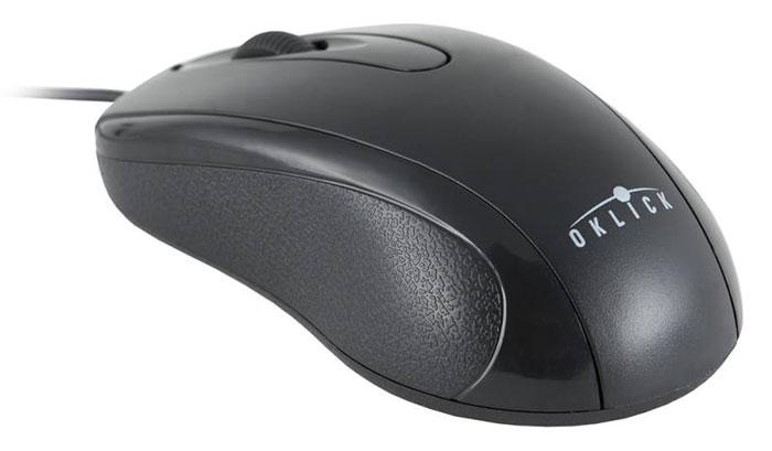 Oklick 205M, Black мышьM203Проводная мышь Oklick 205M подходит для работы с ноутбуком и настольным ПК. Устройство выполнено в эргономичном дизайне и имеет симметричную форму, благодаря чему подходит для управления любой рукой. Оптический сенсор с высоким разрешением позволяет использовать устройство в различных графических приложениях и текстовых редакторах. Oklick 205M не требует установки драйверов, достаточно просто подключить ее к USB-порту компьютера. Ресурс до 2500000 нажатий