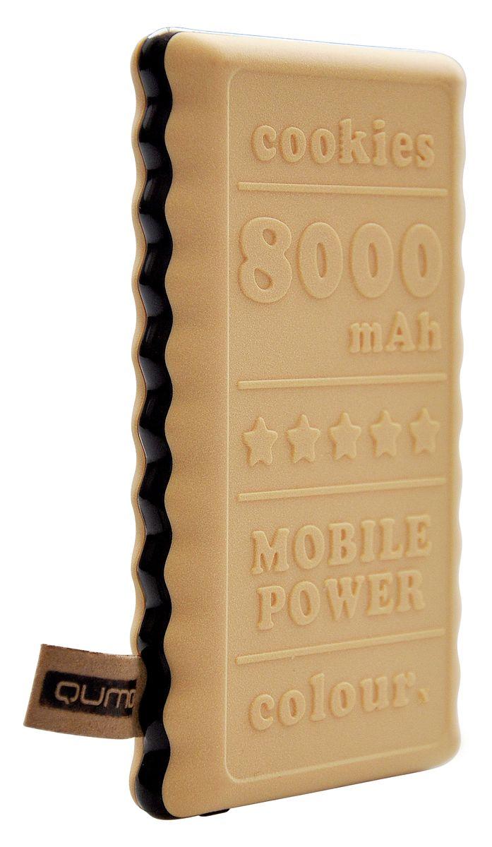QUMO PowerAid Biscuit, Yellow внешний аккумулятор