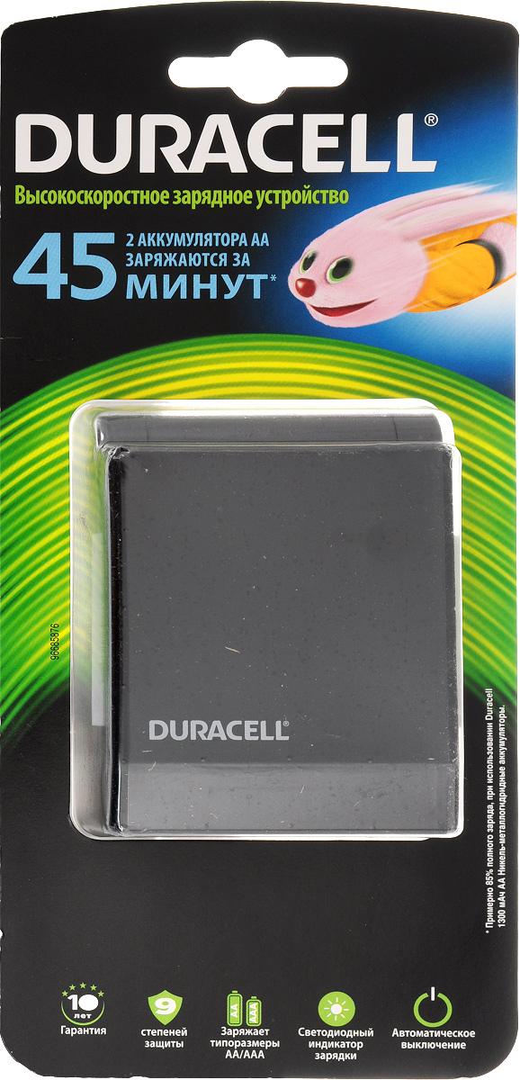 Устройство зарядное Duracell CEF 27 для аккумуляторов типоразмера АА/АААDRC-81364738Зарядное устройство Duracell CEF 27 предназначено для зарядки аккумуляторов типоразмера АА/ААА. Его можно пристроить где угодно и полностью зарядить аккумуляторы к тому моменту, когда они понадобятся. Особенности зарядного устройства Duracell CEF 27: - Заряжает аккумуляторы типоразмера AA/AAA; - Светодиодный индикатор состояния заряда известит вас об окончании зарядки; - Подключается к бытовой электросети. Время зарядки 2 аккумулятора типа АА 45 минут.