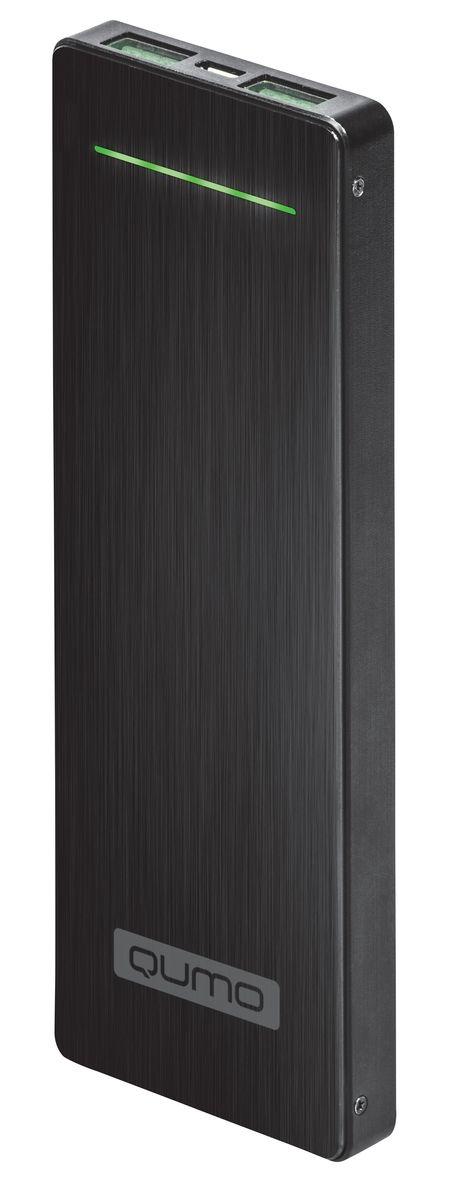 QUMO PowerAid Slim Titan внешний аккумулятор21095QUMO PowerAid Slim Titan - пожалуй, самый стильный внешний аккумулятор для современных смартфонов. Это устройство будет великолепным помощников в ситуации, когда вы находитесь вне дома, а у нужного устройства закончился заряд батареи. Потрясающе тонкий и легкий, незаменимый спутник на каждый день!