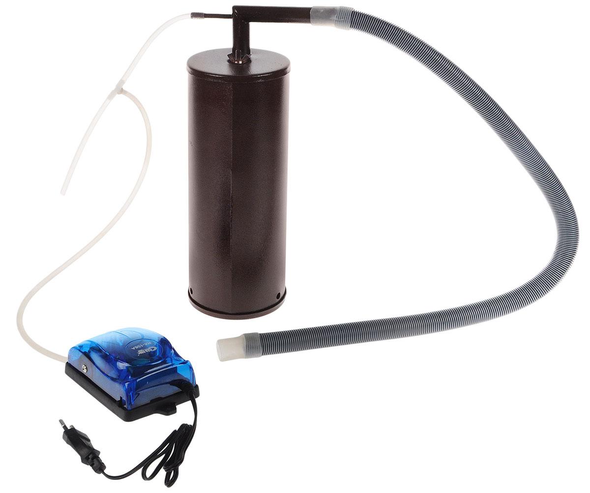 Дым Дымыч -01 коптильняДым Дымыч - 01Дымогенератор Дым Дымыч 01 - это устройство, предназначенное для постоянной подачи дыма в емкость для копчения. Дым Дымыч 01 является неотъемлемым компонентом холодного копчения. Холодным копчением называется обработка продуктов дымом с температурой от 19 до 40°C. Такой процесс может длиться много часов, а то и несколько дней. Копчение это наиболее экологичный метод обработки продуктов. В процессе копчения натуральным густым дымом из мяса или рыбы выводятся все вредоносные микроорганизмы и бактерии. Срок хранения такой пищи увеличивается, а вкусовые качества усиливаются. Производительность компрессора: 2,5 л/мин Давление: 0,012 МПа