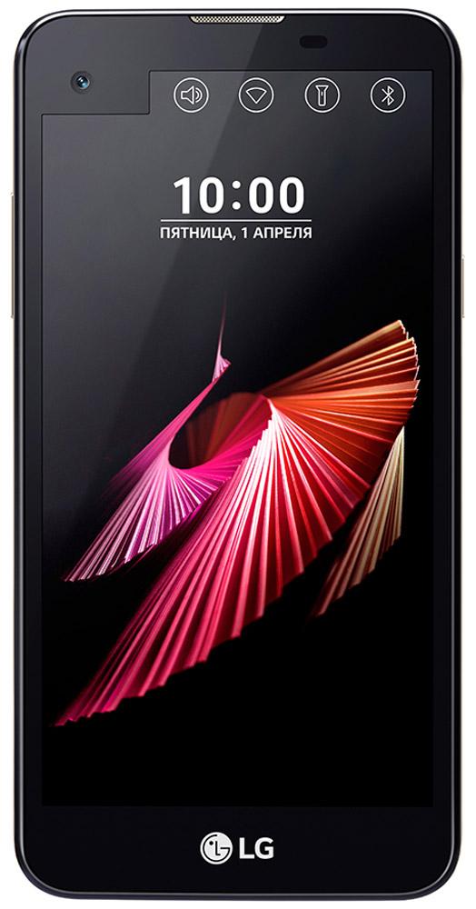 LG X View K500DS, BlackLGK500DS.ACISBKСмартфон LG X View K500DS предлагает расширенные возможности мультизадачности и новые способы подчеркнуть вашу индивидуальность. Оформите второй дисплей под ваше настроение и задачи: добавьте свою подпись, установите меню базовых настроек или избранные приложения, просматривайте важные уведомления, не включая основной дисплей. Больше, тоньше, легче. HD-дисплей с технологией In-Сell Touch предоставляет широкие возможности при работе с приложениями, просмотре сайтов и видео. Второй дисплей позволяет получить быстрый доступ к часто используемым приложениям, избранным контактам и основным настройкам. Качественные фотографии и безупречные селфи. 13-мегапиксельная основная камера позволяет делать фотографии с поразительной детализацией и в высоком разрешении. Благодаря режиму Автосъемка, фронтальная камера автоматически распознает ваше лицо и через несколько секунд сделает селфи. Возможности 4-ядерного процессора помогут вам решить все...