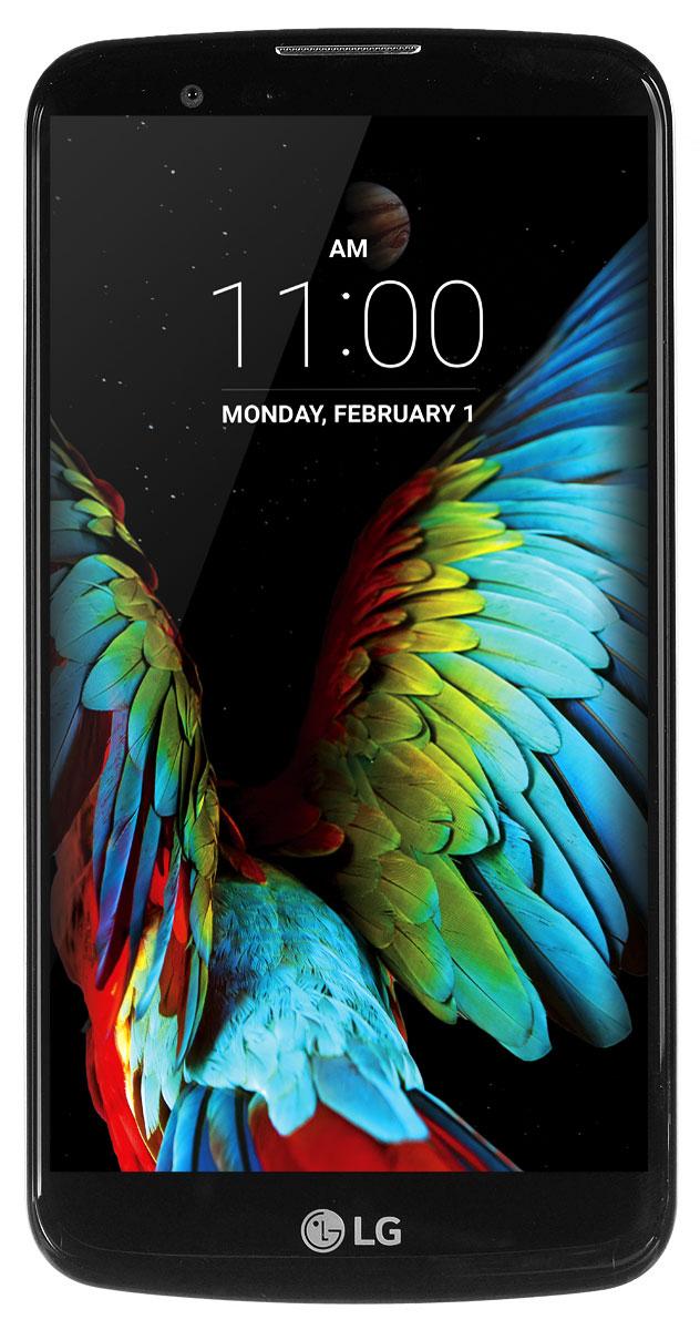 LG K10 LTE K430DS, Black Gold
