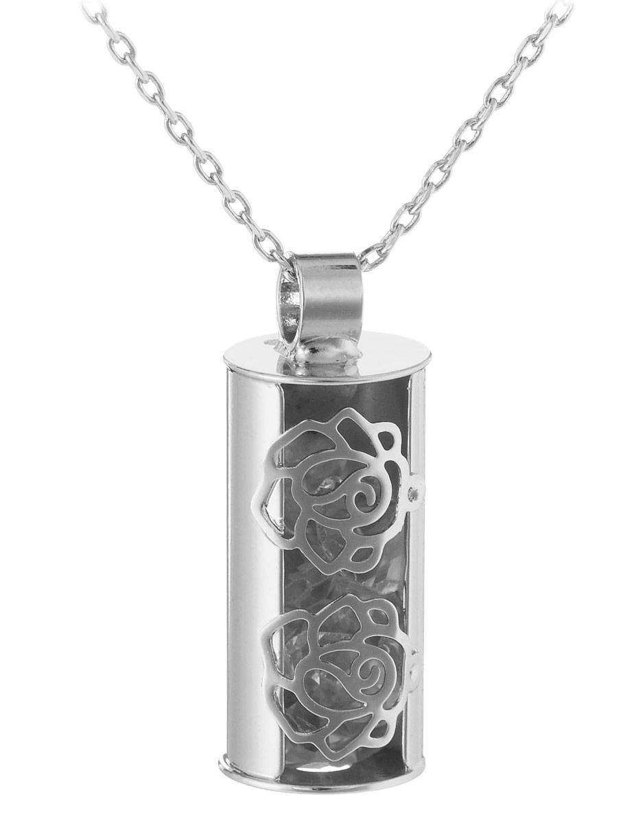 Колье Art-Silver, цвет: серебристый. E15146-S-608