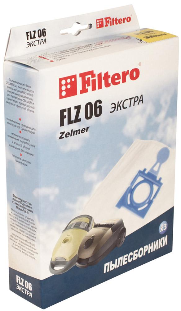 Filtero FLZ 06 Экстра мешок-пылесборник 3 шт