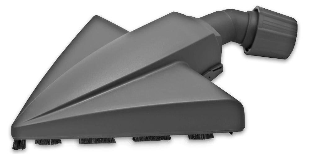 Filtero FTN 14 насадка-треугольник для пылесосов универсальнаяFTN 14Насадка Filtero FTN 14 для сухой уборки жестких полов, с шириной рабочей зоны 23 см оснащена универсальным зажимом, который обеспечивает возможность использования насадки с большинством пылесосов известных марок, с диаметром удлинительной трубки 30-37 мм. Форма насадки Filtero FTN 14 позволяет максимально эффективно убирать в углах помещений и вдоль стен. Наличие колесика и мягкого ворса из натуральной щетины предотвращает появление царапин на паркете и ламинированных полах.