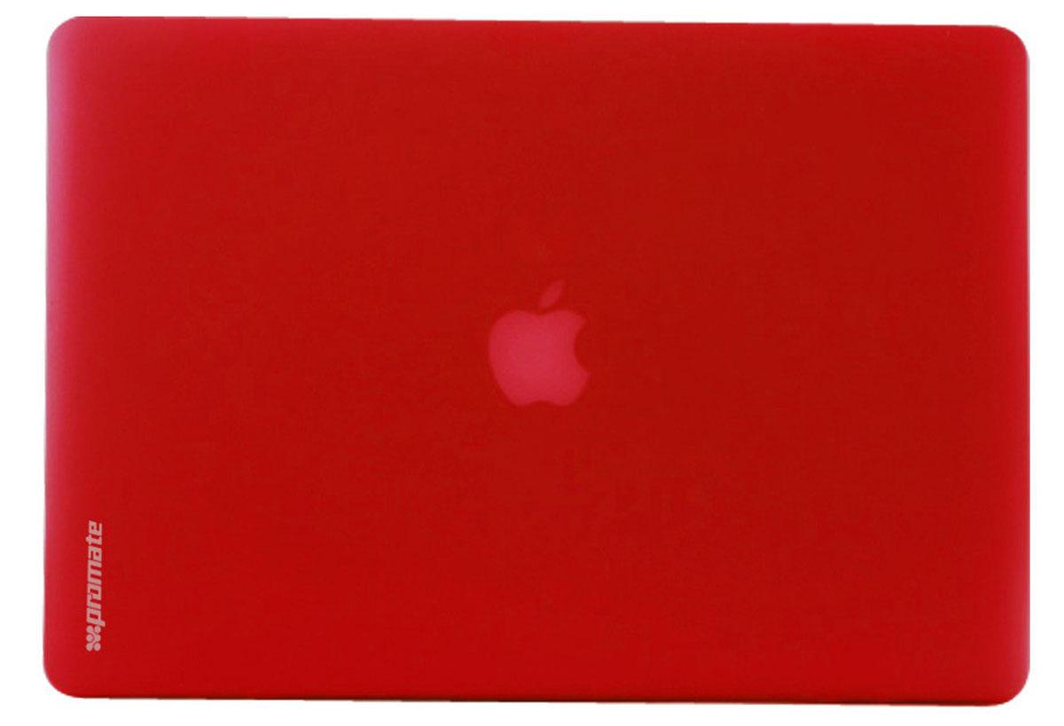 Promate МасShell-Air11, Red чехол для MacBook Air 6959144007595