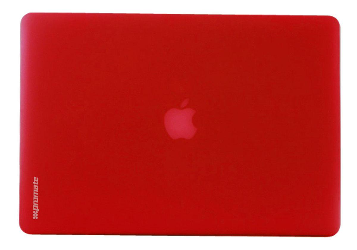 Promate МасShell-Pro13, Red чехол для MacBook Pro6959144007717Очень круто и здорово смотреть сквозь защитный чехол Promate МасShell-Pro13, который может защитить ваш любимый ноутбук от случайных падений и царапин. Теперь устройство может выглядеть в соответствии с вашим настроением. Легкая оснастка и тонкий профиль делает этот приятный во всех отношениях чехол функциональным и модным. Защитите ваш MacBook Pro при помощи этого привлекательного и эргономичного чехла!