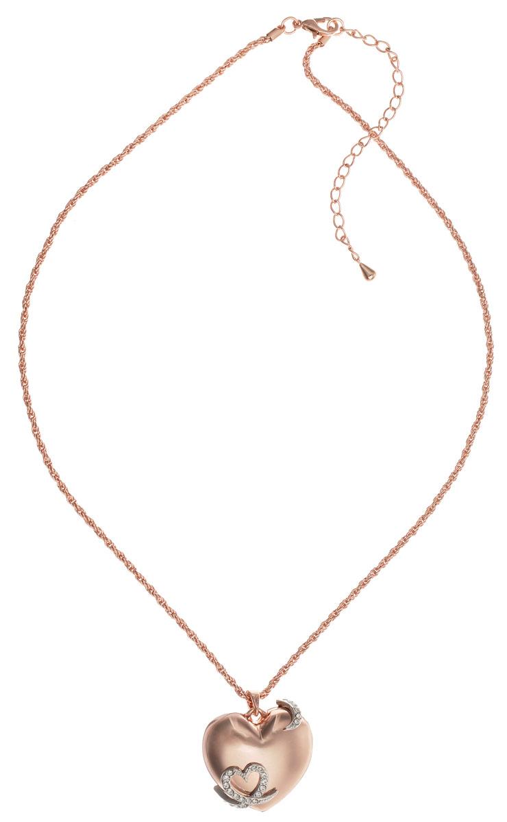 Кулон Art-Silver, цвет: золотой. MS06095N-T-A-912MS06095N-T-A-912Элегантный кулон Art-Silver изготовлен из бижутерийного сплава с позолотой, инкрустирован цирконами и дополнен изящной цепочкой. Кулон выполнен в виде объемного сердечка. Украшение застегивается на замок-карабин, длина изделия регулируется за счет дополнительных звеньев в цепочке. В комплекте с изделием поставляется мешочек для хранения с фирменной символикой. Кулон Art-Silver поможет дополнить любой образ и привнести в него завершающий штрих.