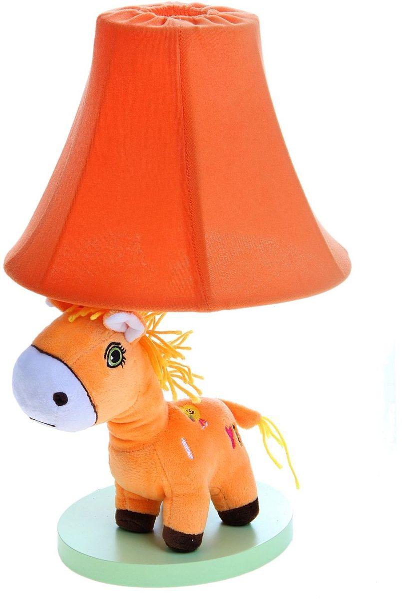 Лампа настольная Плюшевая зебра оранжеая906526Детям веселей, когда их окружают яркие вещицы. Поэтому стоит продумать даже то, как будет выглядеть дополнительный источник света в комнате вашего малыша. Чаще всего подобные светильники ставят на прикроватную тумбочку или письменный стол, чтобы в комнате не оставалось неосвещённого пространства. Чтобы не оставлять своего маленького шалуна в полной темноте, просто «зажгите» светильник детский белый, с ним будет спокойней и вам и ребёнку. *Размещайте провода и другие, не предназначенные для детских ручек детали, таким образом, чтобы ваш шалун до них не дотянулся.