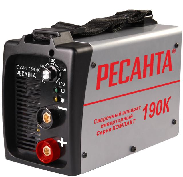 Ресанта Сварочный аппарат инверторный САИ190К(компакт)