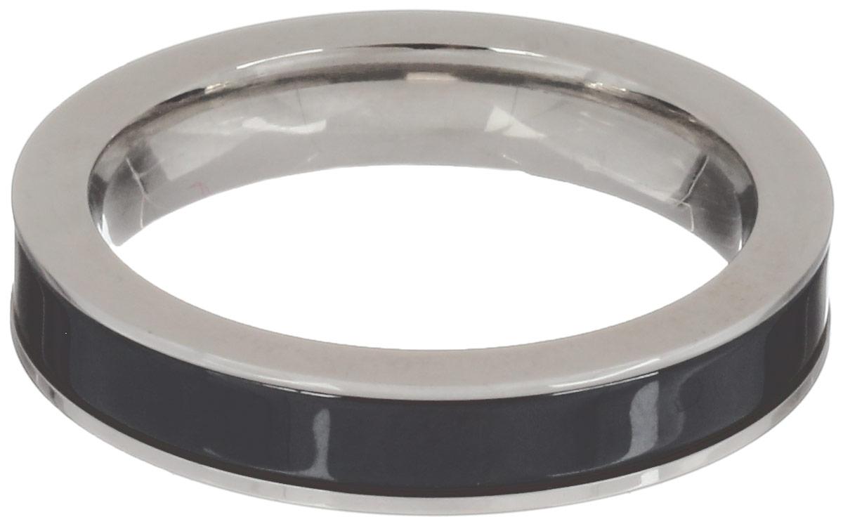 Кольцо Art-Silver, цвет: серебристый, черный. CR056-1-675. Размер 17,5CR056-1-675Стильное кольцо Art-Silver изготовленное из керамики и стали, выполнено в лаконичном стиле. Такое кольцо придаст вашему образу изюминку и подчеркнет индивидуальность.