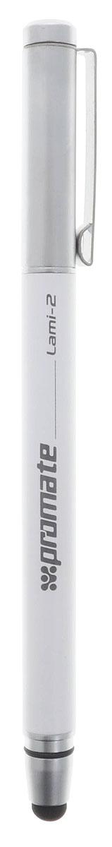 Promate Lami 2, White ручка-стилус для мобильного телефона