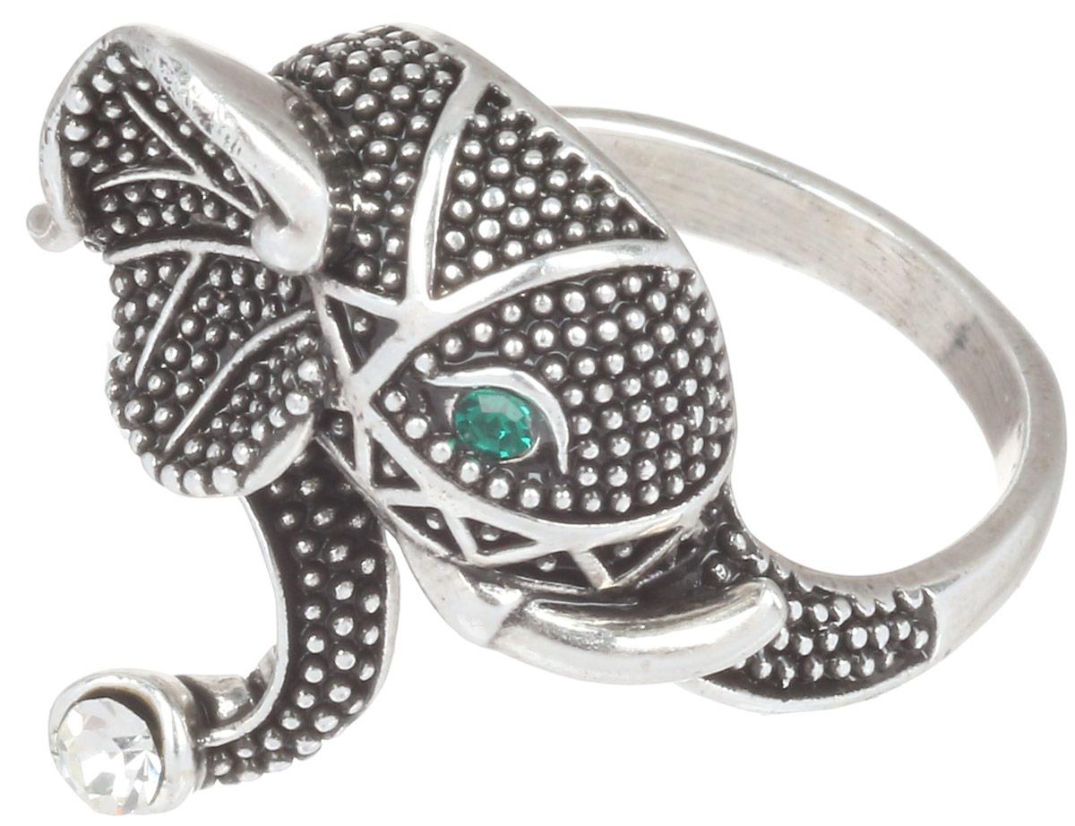 Кольцо Art-Silver, цвет: серебристый. 064321-601-410. Размер 18064321-601-410Великолепное кольцо Art-Silver изготовлено из бижутерного сплава. Декоративная часть кольца выполнена в виде головы слона. Изделие украшено цирконами. Стильное кольцо придаст вашему образу изюминку и подчеркнет индивидуальность.