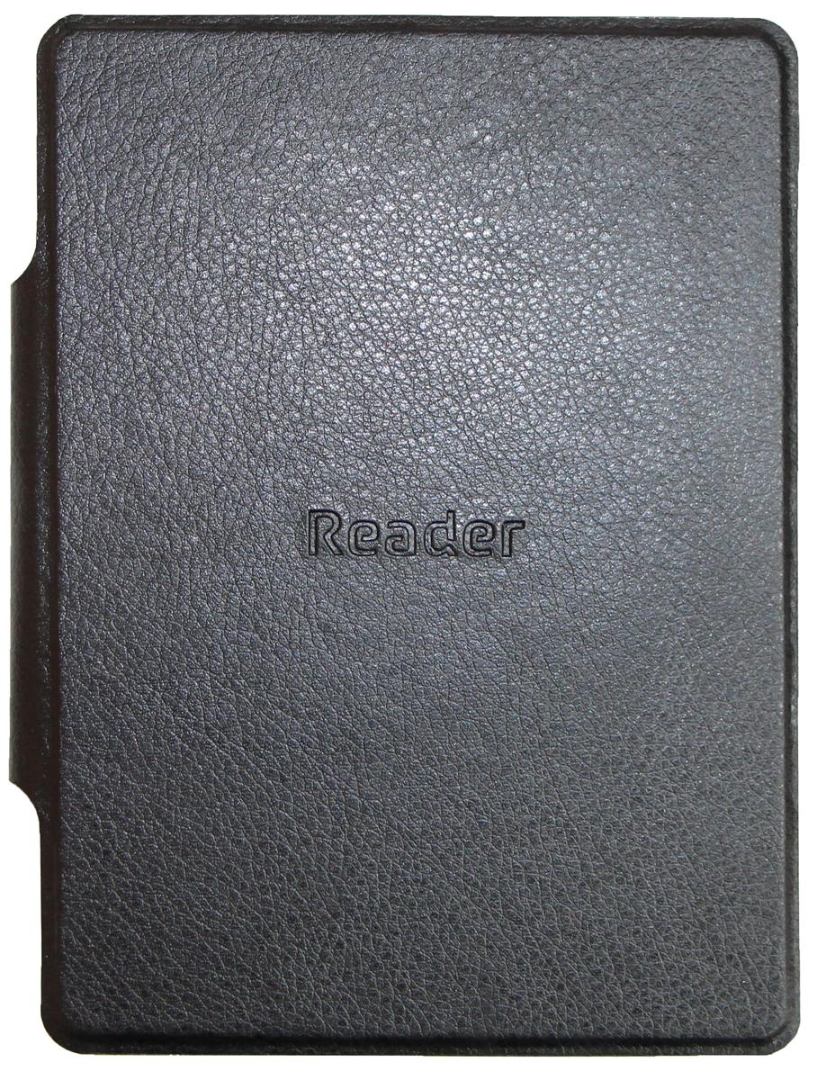 Reader чехол для Book 2, BlackRBALC-2-BK-RUОригинальная обложка подходит для моделей Reader Book2 и не только защищает электронную книгу от царапин и повреждений, но и служит элементом, дополняющим стиль его владельца.