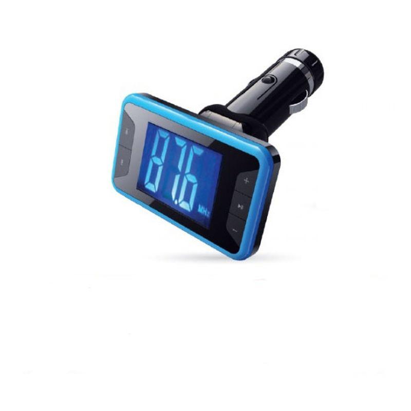 AVS F-532, Blue MP3-плеер + FM-трансмиттер с дисплеем и пультомA80738SДиапазон частот: 87.5-108МГц Интерфейс: USB/micro SD/AUX Питание: 12В/24В