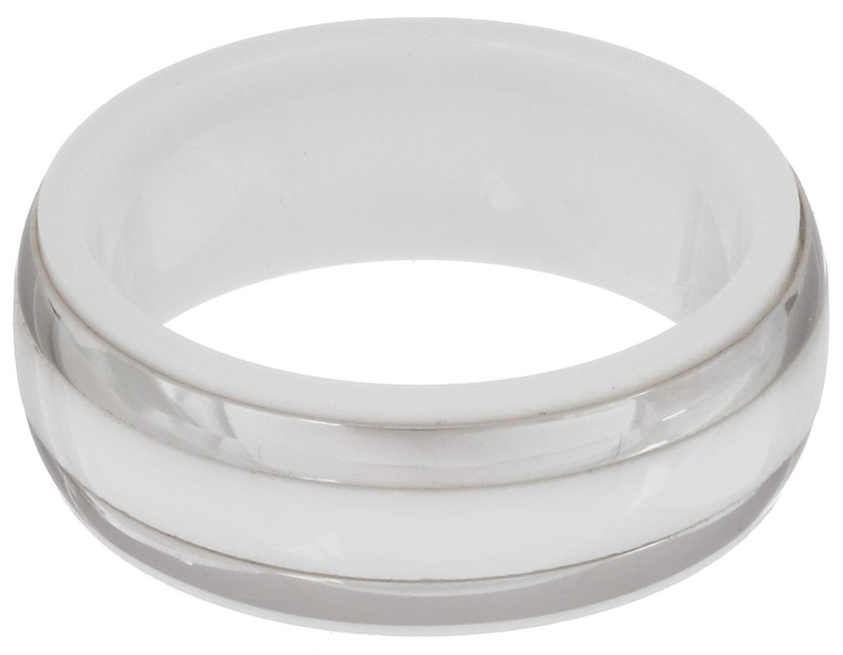 Кольцо Art-Silver, цвет: серебристый, белый. STS21-675. Размер 18STS21-675Стильное кольцо Art-Silver изготовленное из керамики и стали, выполнено в лаконичном стиле. Такое кольцо придаст вашему образу изюминку и подчеркнет индивидуальность.