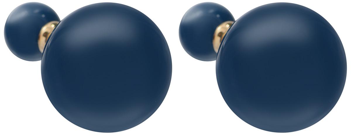 Серьги-шары Art-Silver, цвет: золотой, синий. 29237-4-23129237-4-231Оригинальные серьги-шары Art-Silver изготовлены из бижутерного сплава с покрытием под золото. Изделие представляет собой серьги-пуссеты (гвоздики) круглой формы, выполненные из пластика синего цвета. Стильные серьги придадут вашему образу изюминку, подчеркнут красоту и изящество вечернего платья или преобразят повседневный наряд.