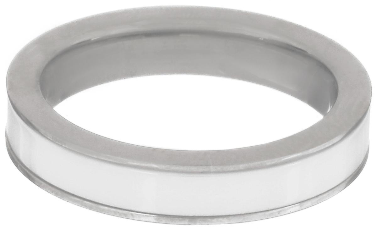 Кольцо Art-Silver, цвет: белый, серебристый. CR056-675. Размер 17,5CR056-675Стильное кольцо Art-Silver изготовленное из керамики и стали, выполнено в лаконичном стиле. Такое кольцо придаст вашему образу изюминку и подчеркнет индивидуальность.