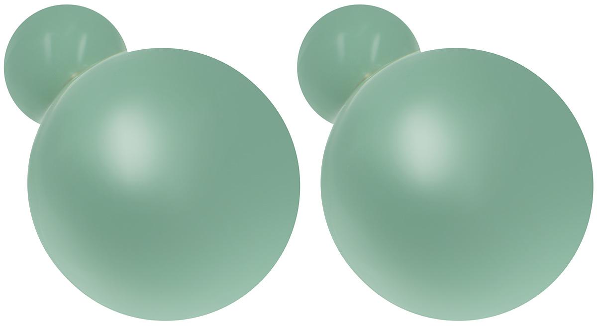 Серьги-шары Art-Silver, цвет: золотой, зеленый. 29237-3-23129237-3-231Оригинальные серьги-шары Art-Silver, изготовлены из бижутерного сплава, с покрытием под золото. Изделие представляет собой серьги-пуссеты (гвоздики) круглой формы, выполненные из пластика и покрытые эмалью. Стильные серьги придадут вашему образу изюминку, подчеркнут красоту и изящество вечернего платья или преобразят повседневный наряд.