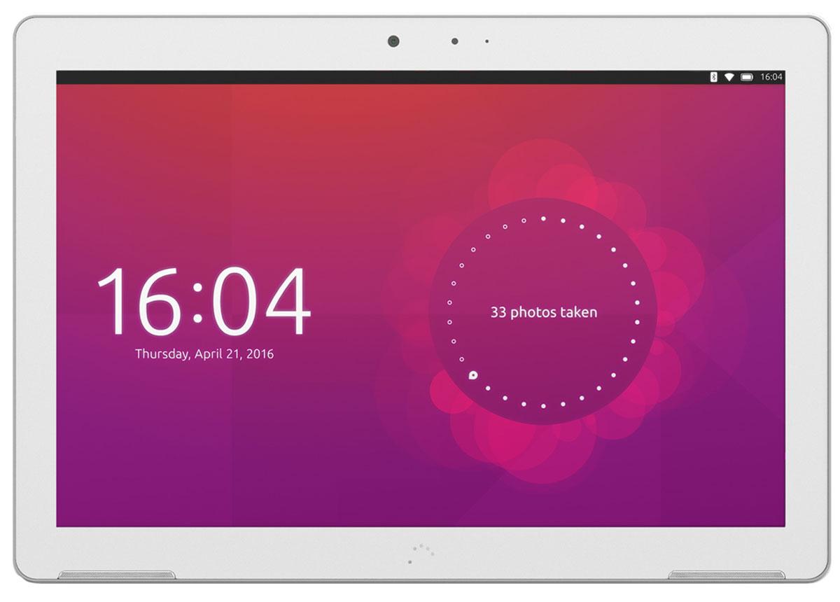 BQ Aquaris M10 HD Ubuntu Edition, WhiteB000170BQ Aquaris M10 - первый в мире планшет с возможностью переключения между 2 интерфейсами. Aquaris M10 Ubuntu Edition имеет два интерфейса, которые позволяют пользователю использовать устройство в качестве планшета или персонального компьютера. Первый программный модуль позволяет использовать все стандартные функции планшета, а режим ПК активируется автоматически при подключении мыши и клавиатуры. Работайте в режиме планшета... Первый в мире планшет на базе Ubuntu OS, операционная система с открытым исходным кодом, предоставляющая уникальные возможности для пользователей. Интуитивно понятный интерфейс включает множество интересных функций: пользовательский экран быстрого запуска, с помощью которого можно оперативно получить доступ к различному контенту на устройстве (музыка, видео, тексты, социальные сети и т.д.). Данные группируется интуитивно понятным образом, используя логику пользователя, что устраняет необходимость в поиске контента в...