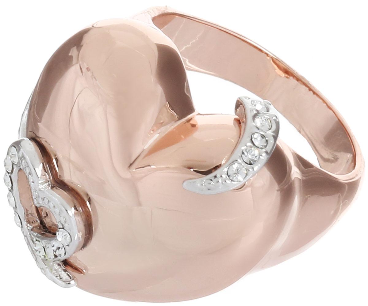 Кольцо Art-Silver, цвет: золотистый. MS06095R-T-A-522. Размер 18MS06095R-T-A-522Великолепное кольцо Art-Silver изготовлено из бижутерного сплава с золотистым покрытием. Декоративная часть кольца выполнена в виде сердца. Изделие украшено цирконами. Стильное кольцо придаст вашему образу изюминку и подчеркнет индивидуальность.