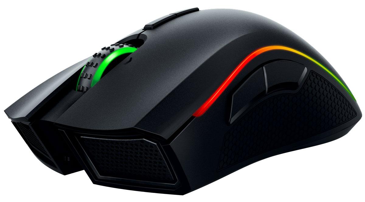 Razer Mamba Chroma игровая мышьRZ01-01360100-R3G1Благодаря самому точному в миру сенсору для игровой мыши с разрешением 16 000 dpi мышь Razer Mamba Chroma обеспечивает непревзойденную точность, увеличивая ваши игровые преимущества над соперниками. А благодаря способности отслеживать перемещение мыши в 1 dpi и высоту отрыва с точностью до 0,1 мм мышь Razer Mamba Chroma помогает вам моментально реагировать на любую ситуацию на пути к победе. Вы можете выбрать быстрые щелчки, имитирующие интенсивную стрельбу, или более внушительные и четкие щелчки, так как мышь Razer Mamba оснащена сверхчувствительными кнопками с регулируемым механизмом силы нажатия, который вы можете отрегулировать согласно своим предпочтениям. Выберите один из нескольких уровней силы срабатывания, чтобы установить чувствительность щелчка, подходящую именно вам: высокую для контролируемой снайперской стрельбы или низкую для быстрой стрельбы во время интенсивных схваток в MOBA. Благодаря передовой двойной...