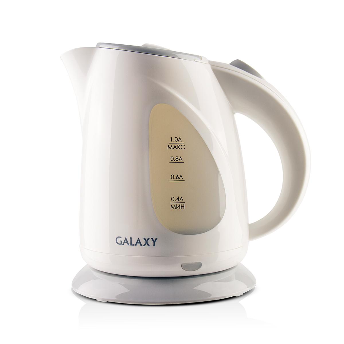 Galaxy GL 0213, White чайник электрический