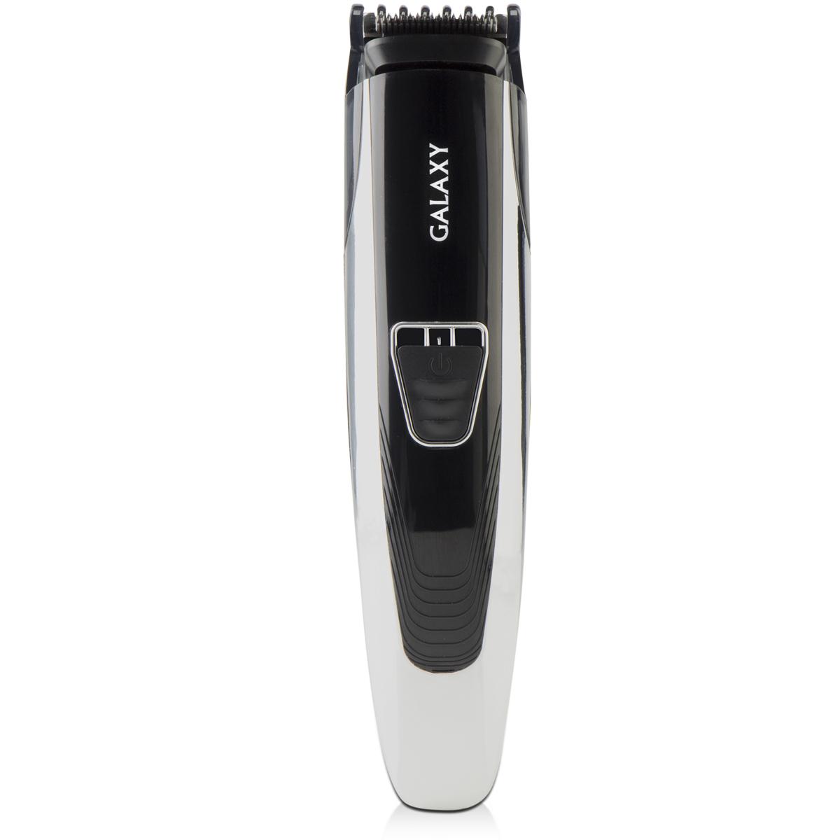 Galaxy GL 4154, Black набор для стрижки4650067301792Машинка для стрижки волос Galaxy GL 4154 поможет вам сделать как простую, так и сложную стрижку в домашних условиях. Лезвия из японской нержавеющей стали обеспечивают плавность хода и гарантируют превосходное качество стрижки. Встроенный триммер шириной 25 мм
