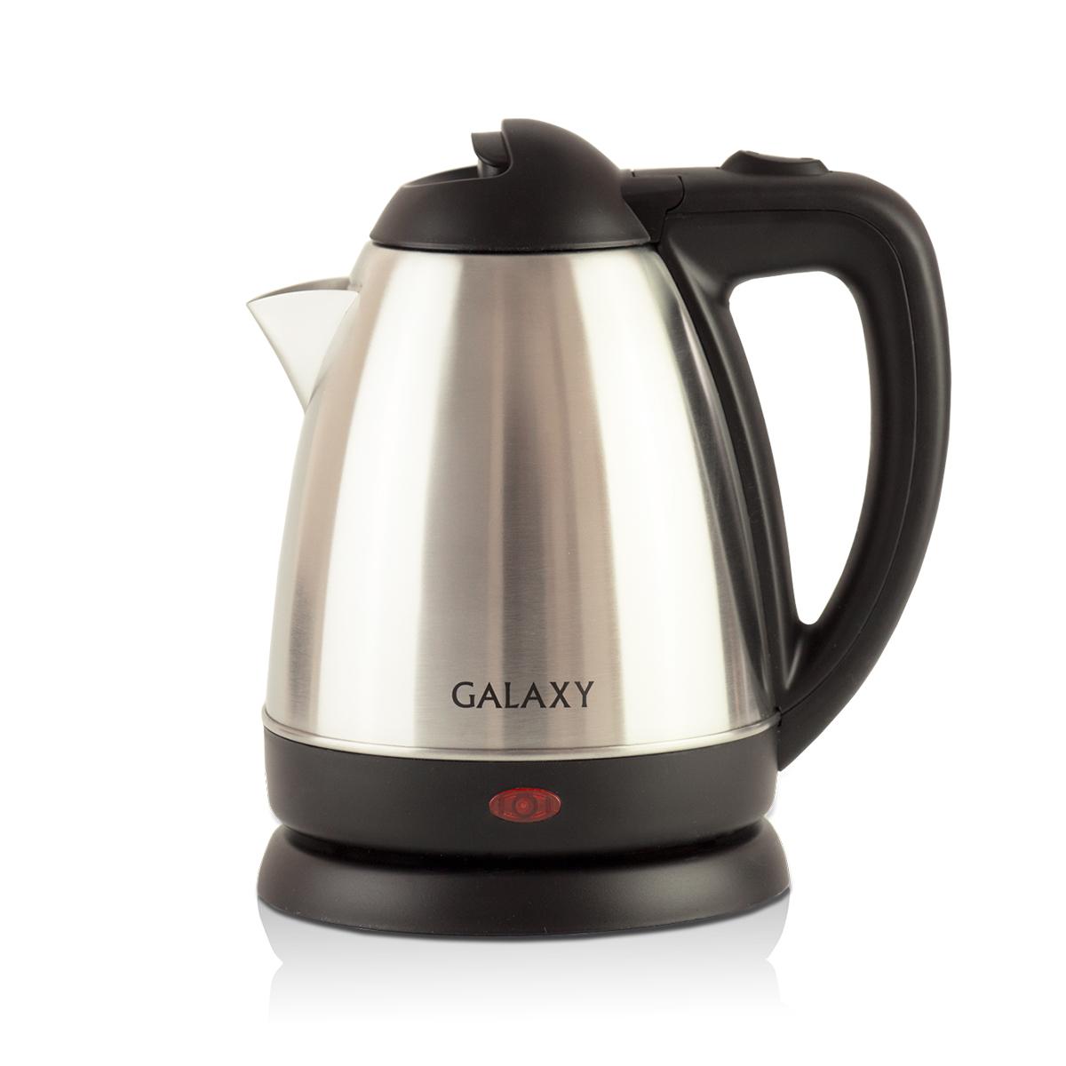 Galaxy GL 0317, Silver чайник электрический4650067301969Металлический чайник Galaxy GL 0317 изготавливается из стали марки 18/10, именуемой медицинской или хирургической. Такое название она получила не случайно, ведь именно из этой марки стали изготавливаются медицинские и хирургические инструменты. Это обусловлено тем, что сталь 18/10 экологически безопасна, имеет высокую плотность и твердость, устойчива к коррозии, а также к воздействию кислот и щелочей, в том числе при высоких температурах. Galaxy Galaxy GL 0317 - это мощная (1200 Вт) модель объемом 1,2 л. С помощью этого чайника вы сможете приготовить чай на большую компанию за считанные минуты. Вращающийся корпус сделает использование чайника еще более удобным, а фильтр избавит от попадания накипи в чашку.