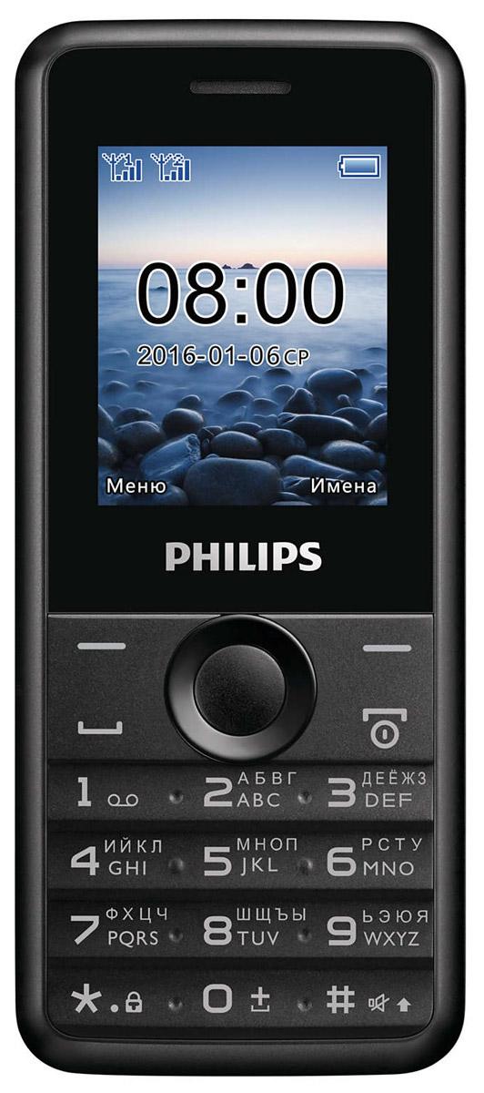 Philips Xenium E103, BlackСТЕ103ВК/00Philips Xenium E103 оснащен только самыми необходимыми функциями, чтобы вы всегда оставались на связи с родными и близкими. Организуйте свою жизнь — разделите контакты на 2 группы, используя два телефонных номера. С двумя SIM- картами вам не придется все время носить с собой 2 телефона Зачем искать ключи или выключатель в темноте? Воспользуйтесь удобным светодиодным фонариком, встроенным в телефон, и источник света всегда будет у вас под рукой. Оцените удобство настройки FM-радио. Слушайте музыку так, как вам нравится — через динамик телефона или гарнитуру. Просто подключите гарнитуру, которая также является антенной, и выберите в меню функцию прослушивания. Телефон сертифицирован EAC и имеет русифицированную клавиатуру, меню и Руководство пользователя.