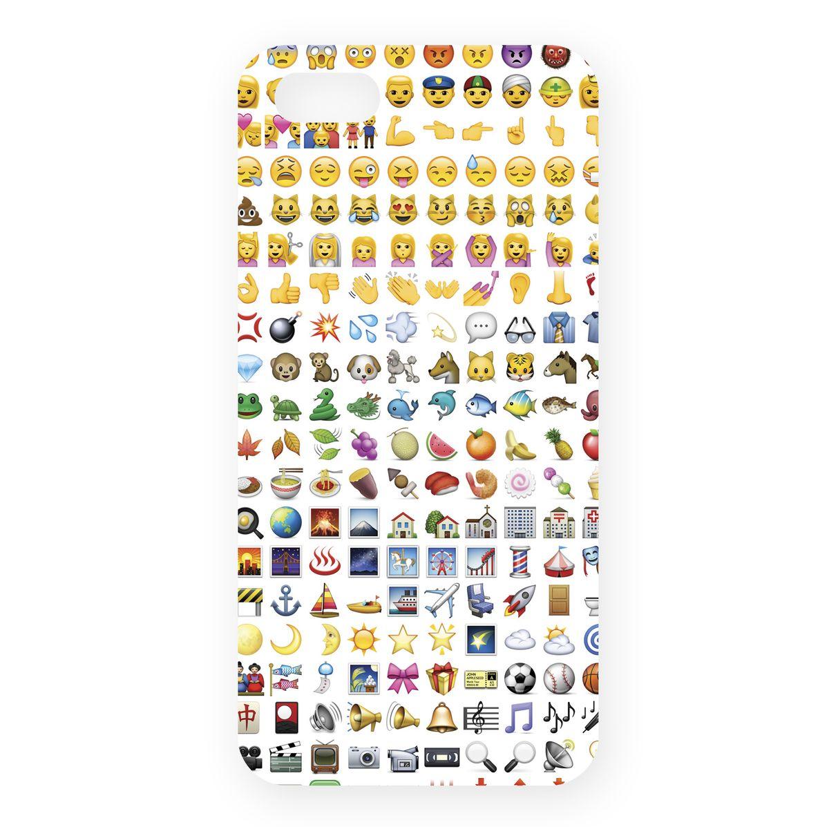 Mitya Veselkov Эмодзи чехол для Apple iPhone 5/5sIP5.MITYA-250Превосходный чехол для Apple iPhone 5 - для любителей заметных аксессуаров. Накладка придаст Вашему телефону индивидуальность и послужит прекрасной защитой от ударов и царапин.