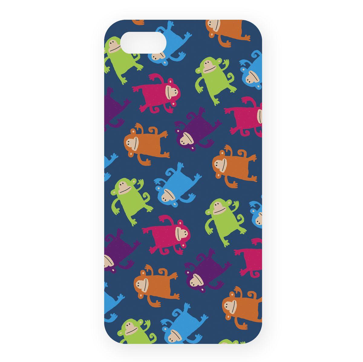 Mitya Veselkov Смешные обезьянки на синем чехол для Apple iPhone 5/5sIP5.МITYA-213Превосходный чехол Mitya Veselkov Смешные обезьянки на синем создан для любителей заметных аксессуаров. Накладка придаст вашему телефону индивидуальность и послужит прекрасной защитой от ударов и царапин. Чехол также обеспечивает свободный доступ ко всем разъемам и клавишам устройства.