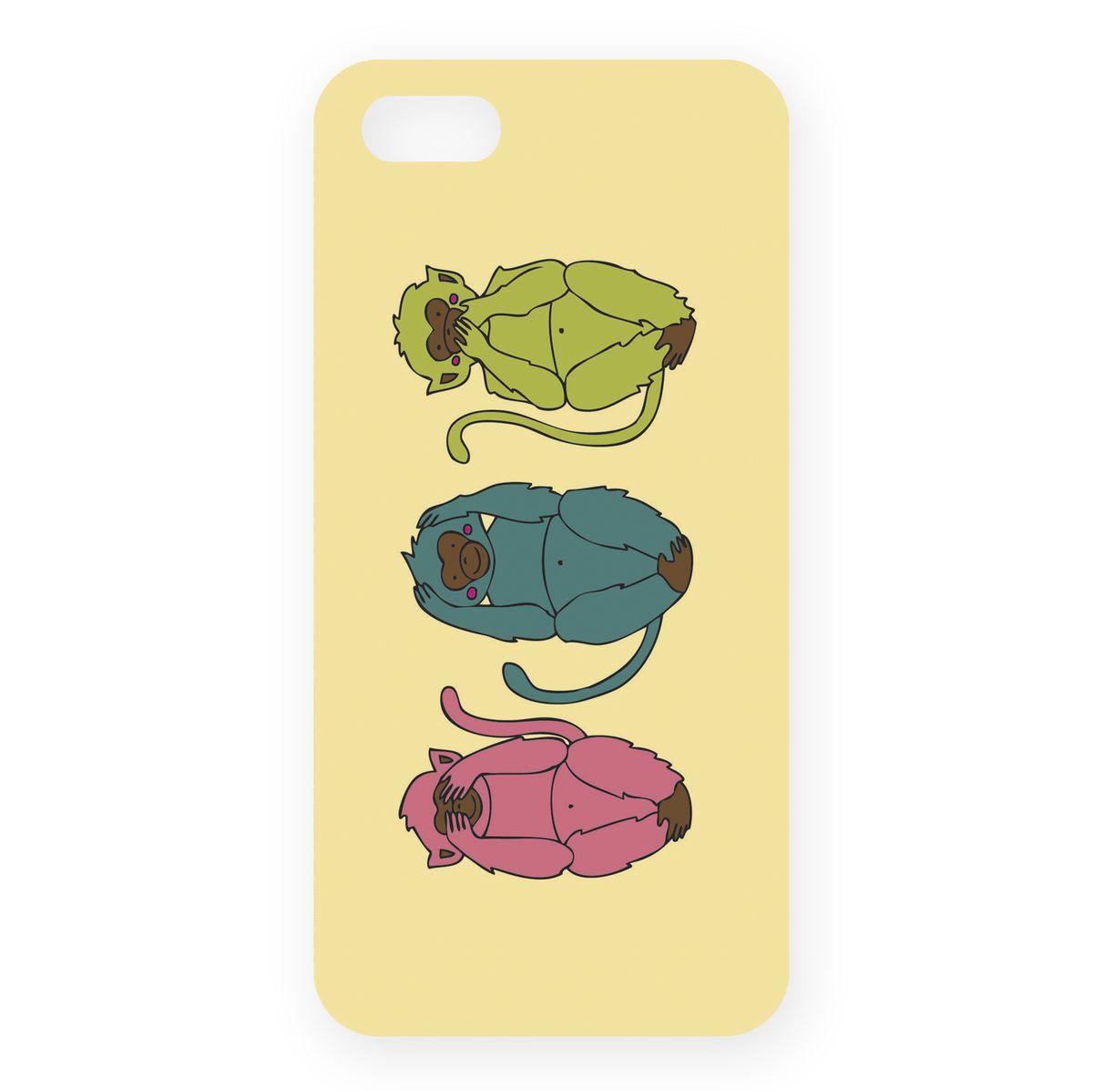 Mitya Veselkov Три мудрых обезьяны на светло-желтом чехол для Apple iPhone 5/5sIP5.МITYA-214Превосходный чехол Mitya Veselkov Три мудрых обезьяны на светло-желтом создан для любителей заметных аксессуаров. Накладка придаст вашему телефону индивидуальность и послужит прекрасной защитой от ударов и царапин. Чехол также обеспечивает свободный доступ ко всем разъемам и клавишам устройства.