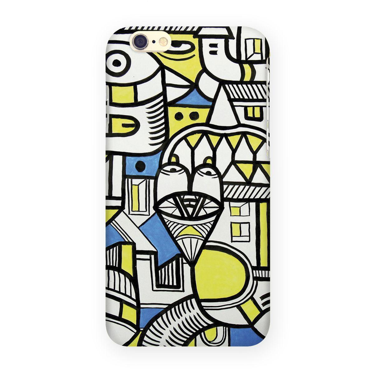 Mitya Veselkov �������� ����� ��� Apple iPhone 6/6s, Blue Yellow