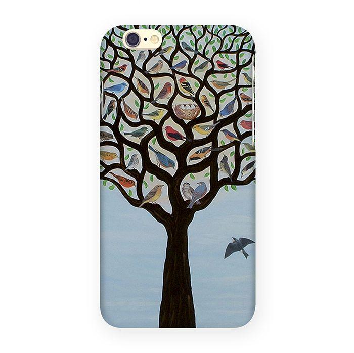Mitya Veselkov Дерево с птичками чехол для Apple iPhone 6/6s