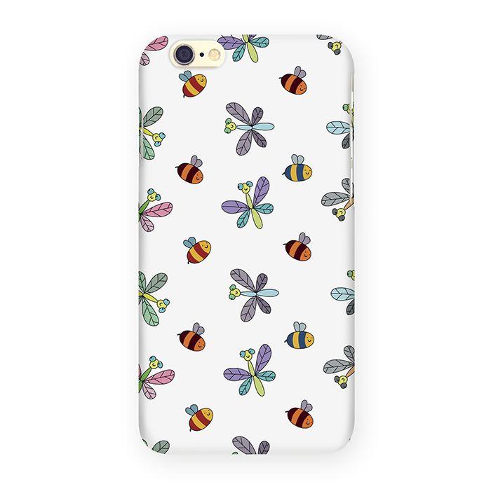 Mitya Veselkov Стрекозы и пчелы на белом чехол для Apple iPhone 6/6sIP6.МITYA-065Превосходный чехол Mitya Veselkov Стрекозы и пчелы на белом создан для любителей заметных аксессуаров. Накладка придаст вашему телефону индивидуальность и послужит прекрасной защитой от ударов и царапин. Чехол также обеспечивает свободный доступ ко всем разъемам и клавишам устройства.