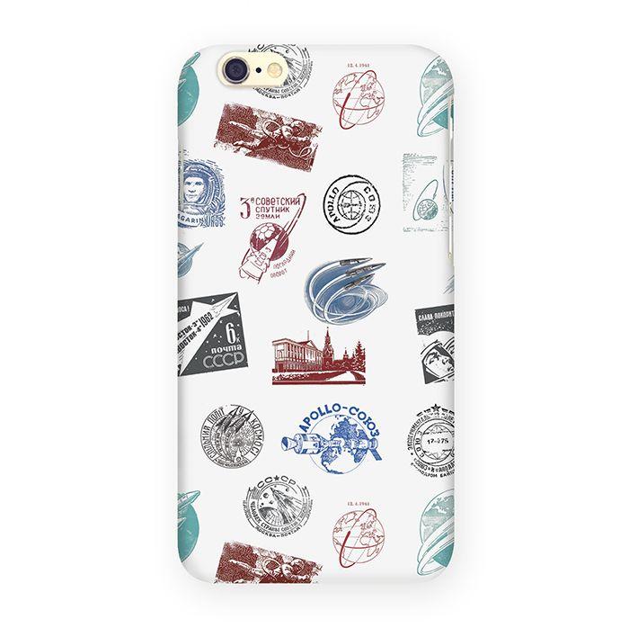 Mitya Veselkov Штампики о космосе чехол для Apple iPhone 6/6s