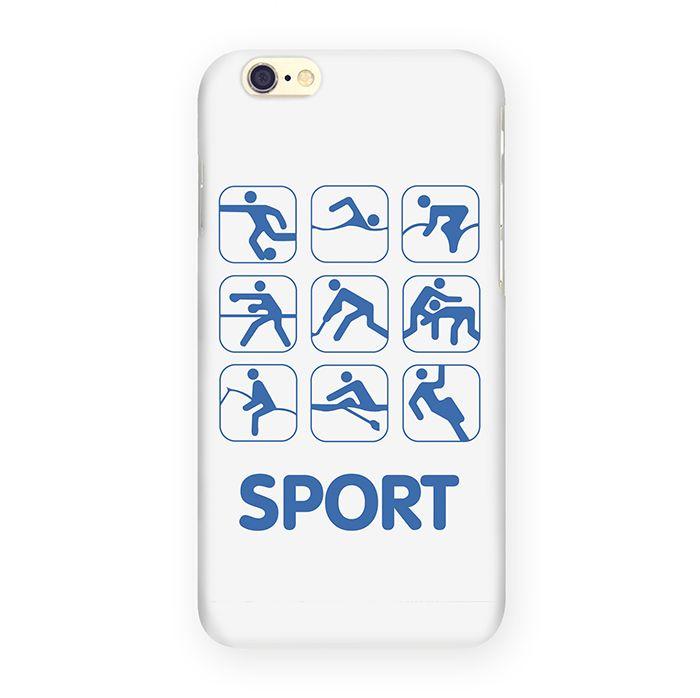 Mitya Veselkov Sport чехол для Apple iPhone 6/6sIP6.МITYA-137Оденьте свой любимый iPhone! Чехол Mitya Veselkov для вашего Apple iPhone 6/6s - не просто средство защиты от царапин и внешних повреждений, но и модный аксессуар, который сделает ваш образ завершенным.