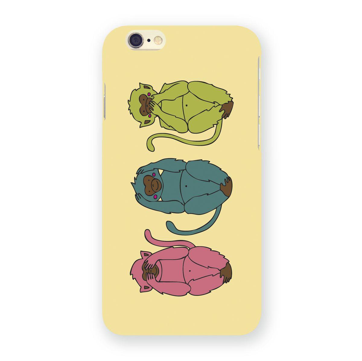 Mitya Veselkov Три мудрых обезьяны на светло-желтом чехол для Apple iPhone 6/6sIP6.МITYA-214Превосходный чехол Mitya Veselkov Три мудрых обезьяны на светло-желтом создан для любителей заметных аксессуаров. Накладка придаст вашему телефону индивидуальность и послужит прекрасной защитой от ударов и царапин. Чехол также обеспечивает свободный доступ ко всем разъемам и клавишам устройства.