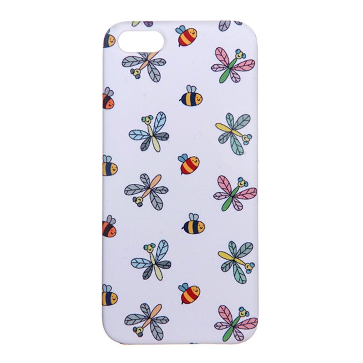 Mitya Veselkov Стрекозы и пчелки на белом чехол для Apple iPhone 5/5sIP5.МITYA-065Превосходный чехол Mitya Veselkov Стрекозы и пчелки на белом создан для любителей заметных аксессуаров. Накладка придаст вашему телефону индивидуальность и послужит прекрасной защитой от ударов и царапин. Чехол также обеспечивает свободный доступ ко всем разъемам и клавишам устройства.