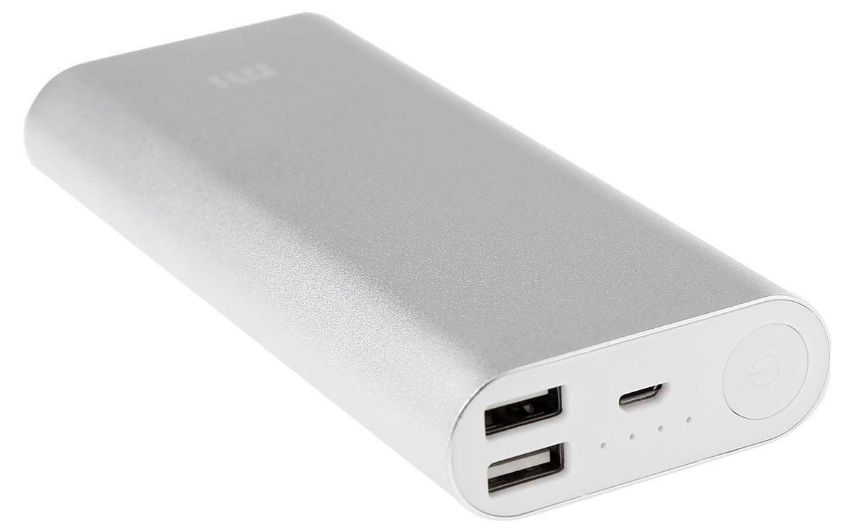 Xiaomi Power Bank, Silver внешний аккумулятор (16000 мАч)
