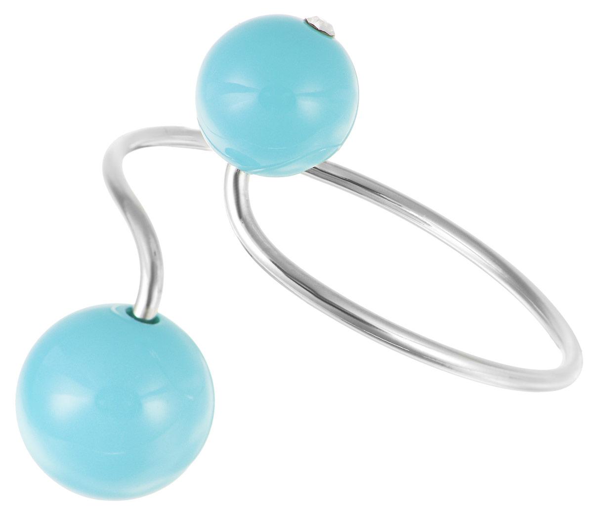 Браслет Art-Silver, цвет: серебристый, голубой. 01675-42301675-423Лаконичный женский браслет Art-Silver выполнен из бижутерного сплава. Модель оформлена декоративными элементами из искусственного жемчуга со вставками из кубического циркона. Металлический каркас обеспечивает прилегание модели к руке. Красивый и необычный браслет блестяще подчеркнет ваш изысканный вкус и поможет внести разнообразие в привычный образ.