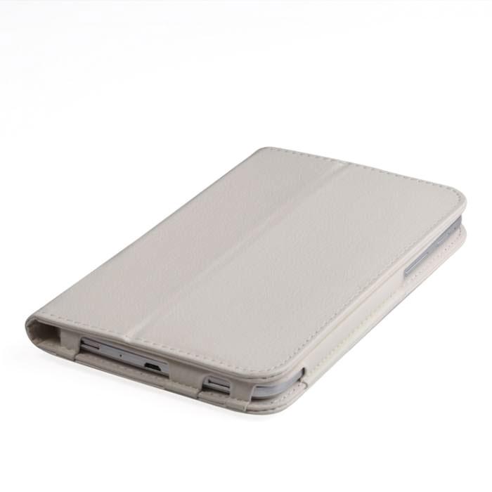 IT Baggage чехол для Samsung Galaxy Tab A 7.0 SM-T285/SM-T280, WhiteITSSGTA70-0Чехол IT Baggage - надежный защитник вашего планшета, ведь теперь ему не страшны царапины, потертости и даже последствия небольших падений. Удобный чехол из высококачественной искусственной кожи трансформируется в подставку для более удобного просмотра, например, видео, а его конструкция позволяет получить доступ ко всем разъемам и камере.
