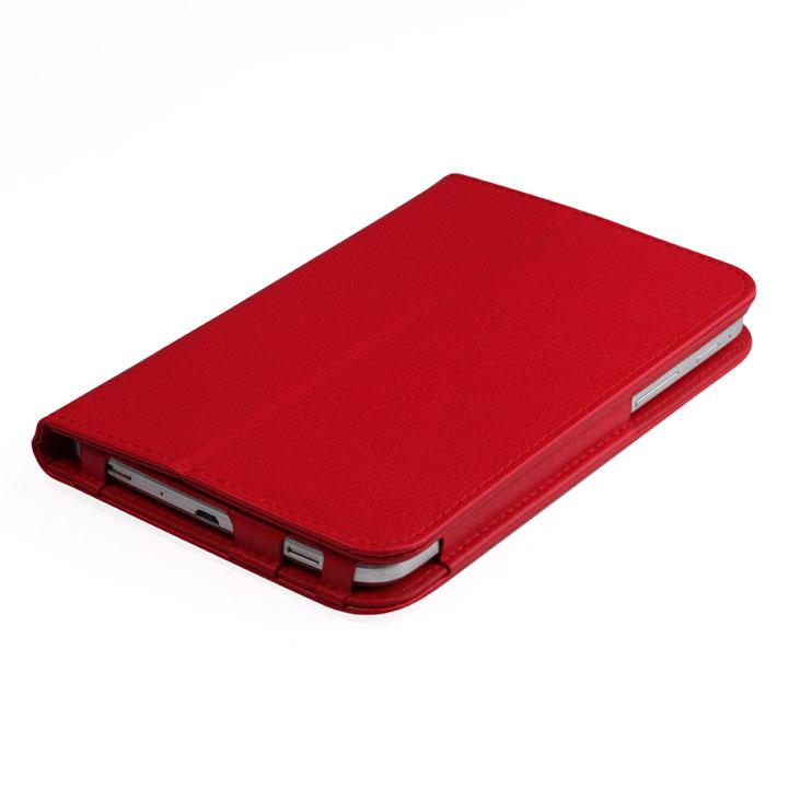 IT Baggage чехол для Samsung Galaxy Tab A 7.0 SM-T285/SM-T280, RedITSSGTA70-3Чехол IT Baggage - надежный защитник вашего планшета, ведь теперь ему не страшны царапины, потертости и даже последствия небольших падений. Удобный чехол из высококачественной искусственной кожи трансформируется в подставку для более удобного просмотра, например, видео, а его конструкция позволяет получить доступ ко всем разъемам и камере.