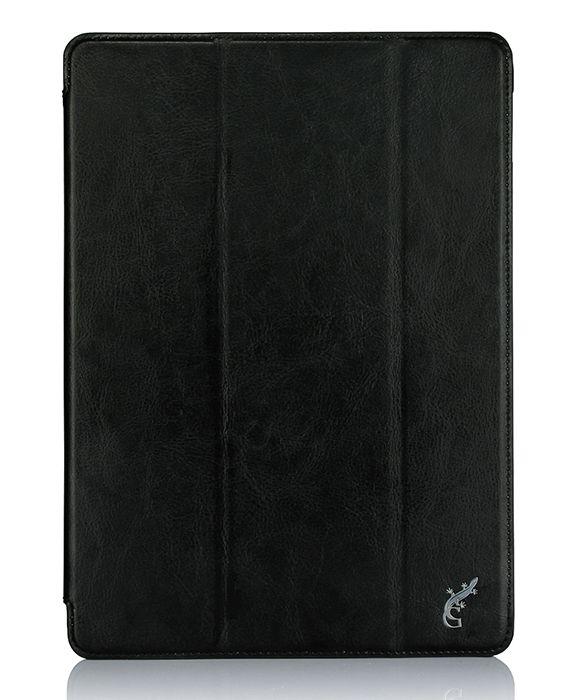 G-case Slim Premium чехол для iPad Pro 9.7, BlackGG-722Чехол для планшета G-Case Slim Premium изготовлен из высококачественной натуральной кожи. Этот материал защищает устройство от повреждений при падениях с небольшой высоты и воздействиях острыми предметами. Кроме того, он способен отталкивать влагу и грязь, обеспечивая идеальную чистоту девайса. - Удобная трансформация. Одним движением руки чехол можно превратить в настольную подставку, подходящую для чтения электронных книг, просмотра видео и Интернет-серфинга. - Прочная фиксация. Для крепления девайса используется жесткая пластиковая рамка, которая полностью исключает его выпадение. - Полный доступ. Чтобы воспользоваться камерой, кнопками или другими функциональными элементами планшета, снимать чехол не придется - в его поверхности предусмотрены специальные вырезы.