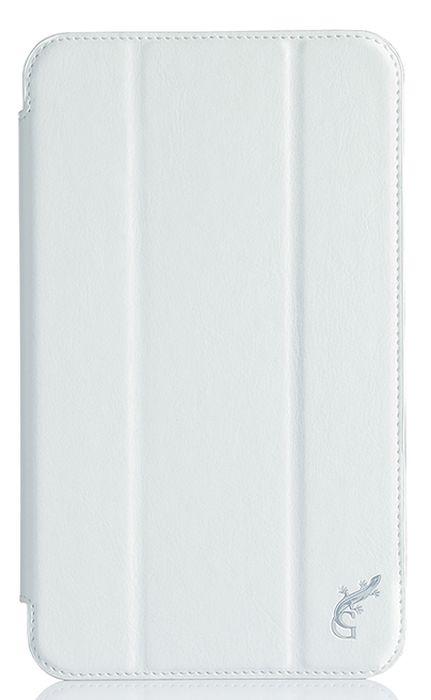 G-case Slim Premium чехол для Samsung Galaxy Tab A 7.0, WhiteGG-723Чехол G-Case Slim Premium для Samsung Galaxy Tab A 7.0 - это стильный и лаконичный аксессуар, позволяющий сохранить устройство в идеальном состоянии. Надежно удерживая технику, обложка защищает корпус и дисплей от появления царапин, налипания пыли. Имеет свободный доступ ко всем разъемам устройства.