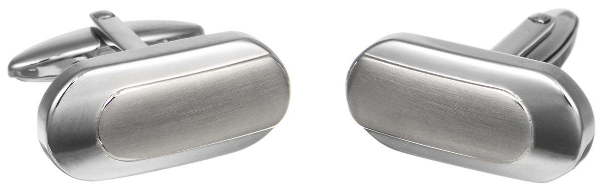 Запонки Art-Silver, цвет: серебристый. З001-540З001-540Стильные запонки Art-Silver, изготовленные из высококачественной стали в оригинальном стиле, непременно станут объектом внимания и подчеркнут ваш изысканный вкус. Запонки - символ мужской элегантности. Они являются неотъемлемой частью вечернего туалета. Мужские запонки великолепного дизайна будут отличным подарком для каждого.