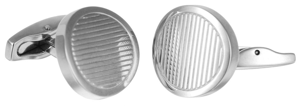 Запонки Art-Silver, цвет: серебристый. QD378-608QD378-608Стильные запонки Art-Silver, изготовленные из высококачественной стали в оригинальном стиле, непременно станут объектом внимания и подчеркнут ваш изысканный вкус. Запонки - символ мужской элегантности. Они являются неотъемлемой частью вечернего туалета. Мужские запонки великолепного дизайна будут отличным подарком для каждого.